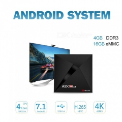Мультимедиа-плеер A5X Max RK3328 Android 7.1 TV Box