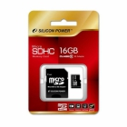 Карта памяти Silicon Power MicroSD 16GB Class10