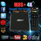 Мультимедиа плеер Android TV Box M8S+ 4K